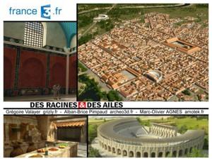 Emission des Racines et des Ailes, France 3, extrait du site A-B. Pimpaud